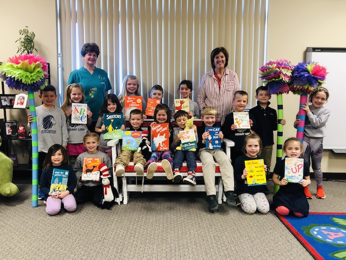 Kindergarten Students at Legacy School Begin PBL Project on Dr. Seuss