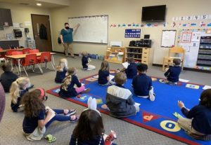 Kindergarten Learning About Notes