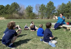 Outdoor Early Childhood Music Lesson